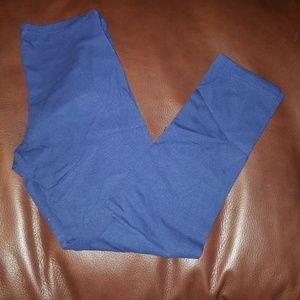Old navy Girls dark blue legging size 8